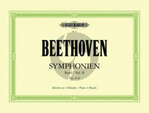 Beethoven Symphonien Vol.2 (No.6-9) Klavier 4 Hd. (Hugo Ulrich) (Peters)
