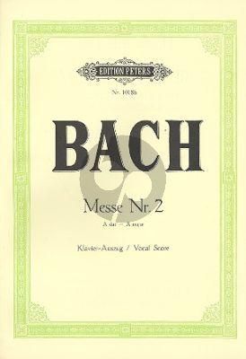 Messe No.2 A-dur BWV 234 für Soli, Chor und Orchester Klavierauszug