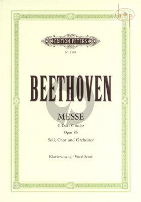 Messe C-dur Opus 86 (Soli-Choir-Orch.-Organ)