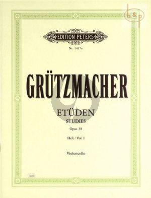 Etuden Op.38 Vol.1 Violoncello