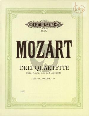 3 Quartette KV 285 - 298 -KV Anh.171 (285b)