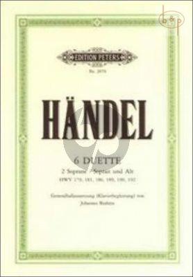6 Duette (2 Soprane / Sopran und Alt)