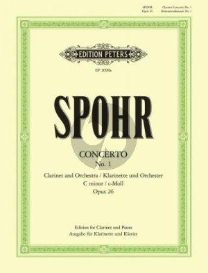 Konzert No.1 c-moll Op.26 Klarinette-Orch. (KA)