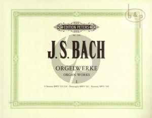 Orgelwerke Vol.1