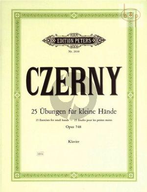 25 Übungen für kleine Hände Op.748