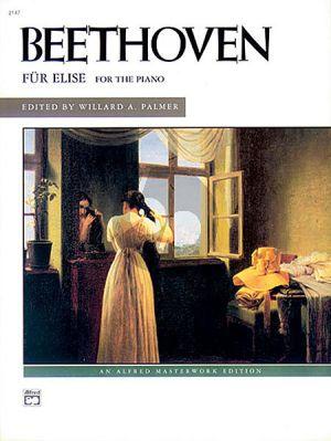 Beethoven Fur Elise WoO 59 Piano (Willard A. Palmer)