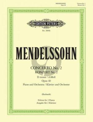 Concerto No.2 d-minor Op.40 Piano-Orch.