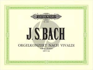 Bach Konzert d-moll (BWV 596) nach Vivaldi Orgel (Griepenkerl)