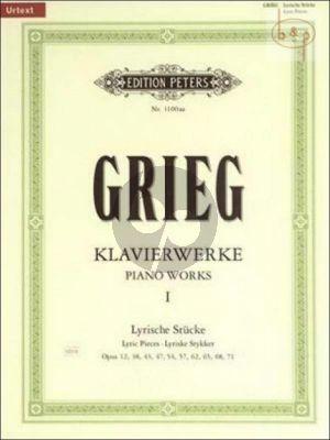 Klavierwerke 1 Lyrische Stucke (Op.12 - 38 - 43 - 47 - 54 - 57 - 62 - 65 - 68 und Op.71)