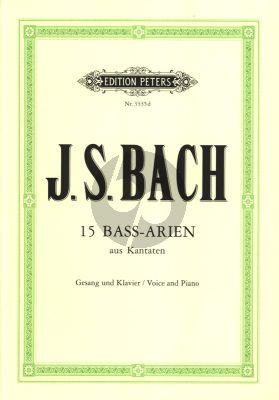Bach 15 Arien aus Kantaten für eine Bassstimme (Straube-Schneider)