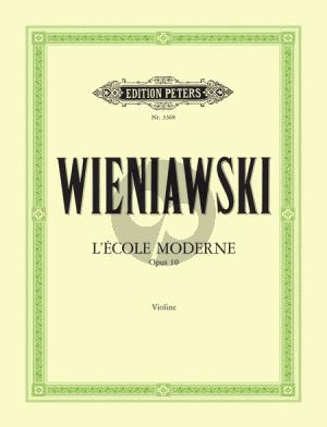 Wieniawski Ecole Moderne Op.10 (Etudes-Caprices) (Sitt)