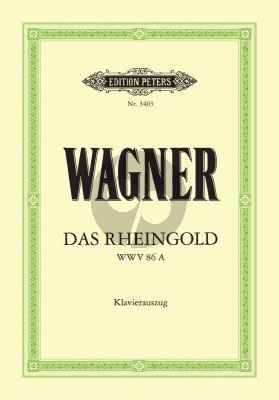 Wagner Das Rheingold WWV 86a Klavierauszug (Oper in 4 Bildern) (Felix Mottl)