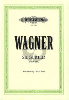 Siegfried WWV 86 C Klavierauszug