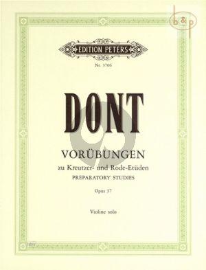 24 Vorubungen Op.37 Violine