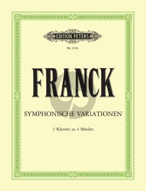 Franck Variations Symphoniques 2 Klaviere