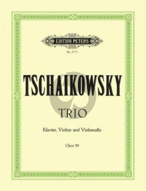 Tchaikovsky Trio a-minor Op.50 Violin-Violoncello-Piano (edited by Carl Hermann)