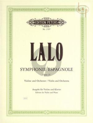 Symphonie Espagnole Op.21 (Violin-Orch.)