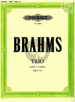 Trio a-moll Op.114 (Klar.[A][Vi./Va.]-Violonc.- Klavier)