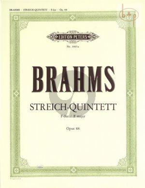 Quintet F-major Op.88 2 Vi.- 2 Va.-Vc