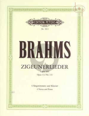 Zigeunerlieder Op.103 /Op.112 Nos.3 - 6