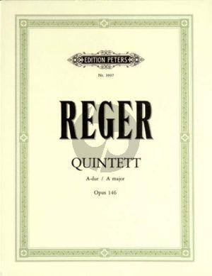 Quintett A-dur Op. 146  Klar. [A][oder Viola]-2 Vi.-Va.-Vc.