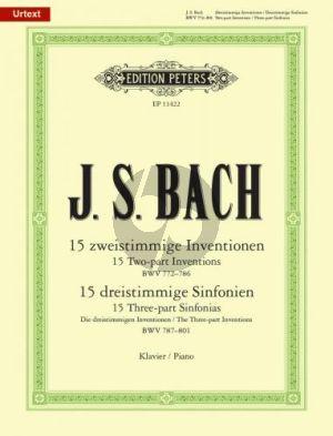Bach Inventionen & Sinfonien Klavier (Ulrich Bartels)