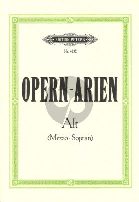 Opern Arien Alt-Klavier (Soldan)