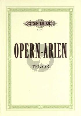 Ausgewählte Opernarien (47 Arien für Tenor)