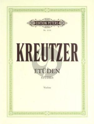 Kreutzer 42 Etuden (Capricen) (Davisson)