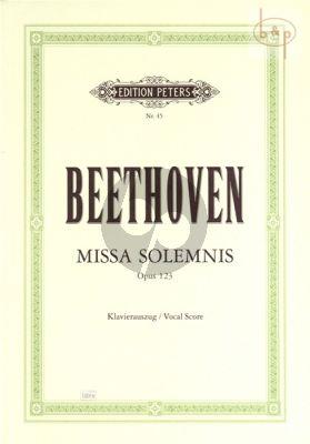 Missa Solemnis Opus 123