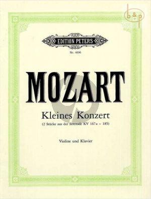 Kleines Konzert (Petit Concerto) (Andante und Allegro)