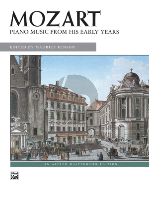 Mozart Piano Music from his Early Years