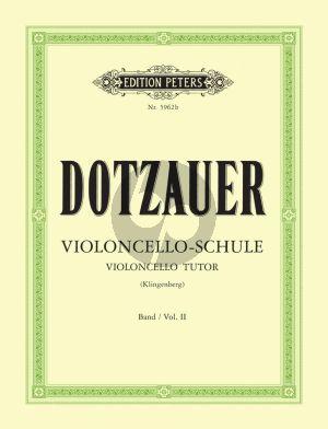 Violoncello-Schule Vol.2 (Zweite bis fünfte Lage)