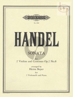 Sonate g-minor Op.2 No.8 HWV 392 (2 Vc.-Bc)