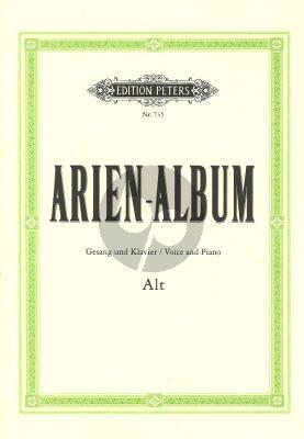 Arien Album (Alt) (Dorffel/Soldan) (Beruhmte Arien aus Oratorien und Opern)