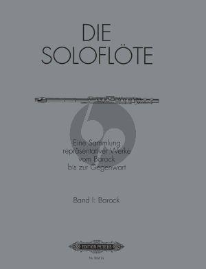 Album Die Soloflote Vol.1: Barock (Eine Sammlung reprasentativer Werke vom Barock bis zur Gegenwart) (Herausgegeben von Mirjam Nastasi)
