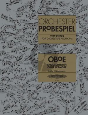 Orchester Probespiel Oboe-Englischhorn-Oboe d'amore