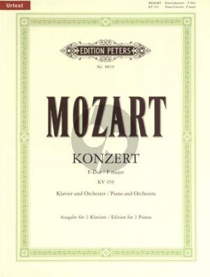 Konzert F-dur KV 459 Klavier-Orch. 2 Klaviere