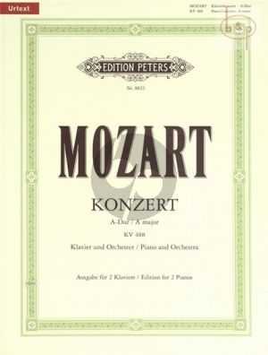 Konzert A-dur KV 488 (Piano-Orch.) (piano red.) (with Cadenza by Mozart)