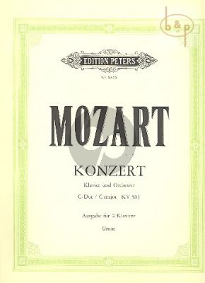 Konzert C-dur KV 503 (Piano-Orch.) (piano red.) (Cadenza by Chr.Zacharias)