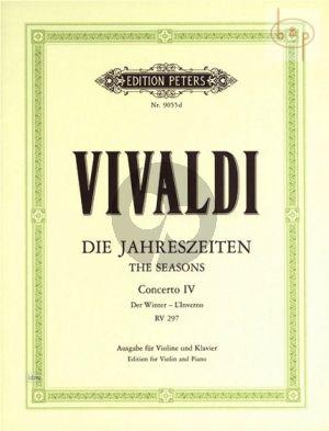Concerto Op.8 No.4 RV 297 f-minor (L'Inverno) (Violin-Str.-Bc.)
