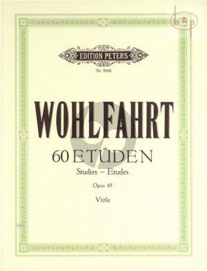 60 Etüden Op.45 Viola
