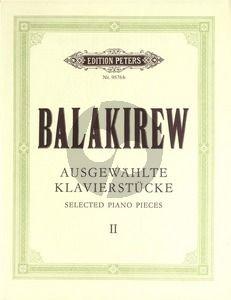 Balakirev Ausgewählte Klavierstücke Vol.2 (Christof Rüger)