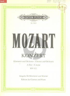 Concerto A-major KV 622 (Version A Clar.)