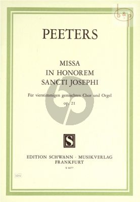Missa in honorem Sancti Josephi Op.21