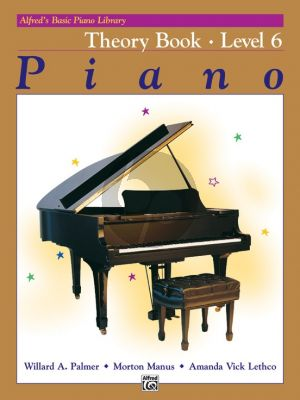 Alfred Basic Piano Theory Book Level 6