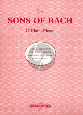 Album Bachs Söhne 12 Klavier Stucke (Hermann)