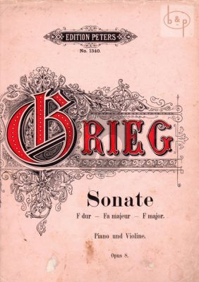 Sonate F-dur Op.8 Violin and Piano