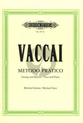 Vaccai Metodo Pratico Mittlere Stimme / Medium Voice