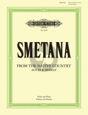 Smetana Aus der Heimat Violine-Klavier